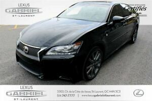 2015 Lexus GS F SPORT TINTED WINDOWS+BLIND SPOT MONITOR+POWER FO