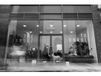 "Hairdressers/Barbers required for awesome barbershop in Parkway shopping centre ""The Unruly"""