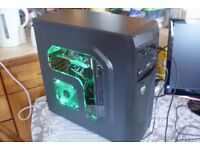 Gaming PC Quad Core 860K 3.7GHz 8GB RAM 1TB HDD NVIDIA GT 1030 2GB GDDR5 GPU