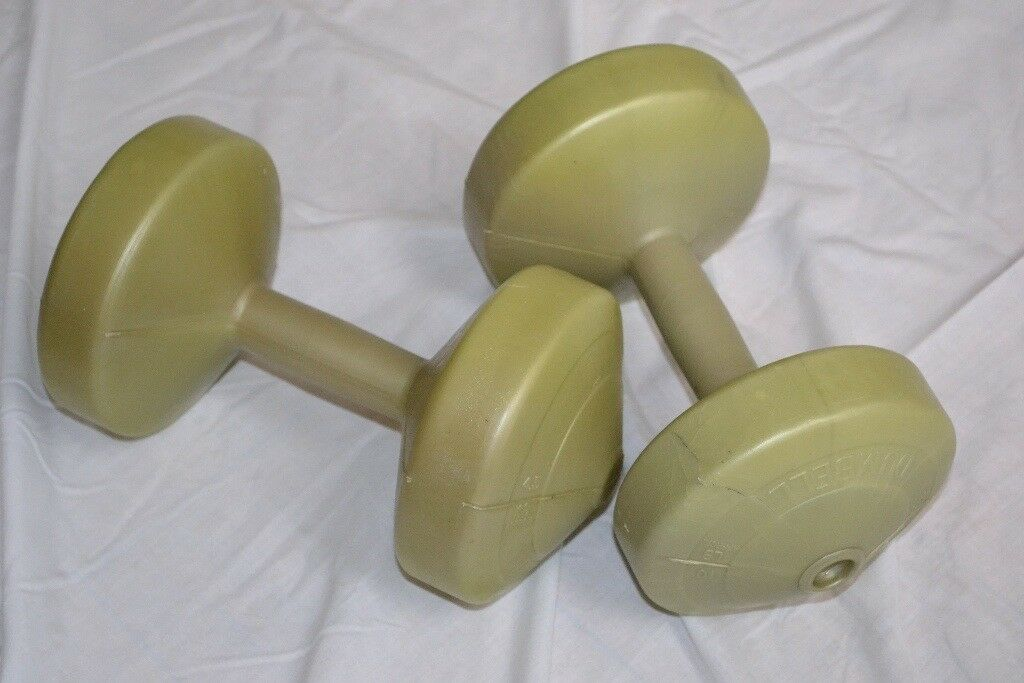 Two 4.5 kg Dumbbells for sale