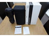 Sigma 150-600c Nikon fit with box
