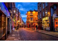 3 cheap flight tickets Washington - Dublin 09.NOV - 13.NOV