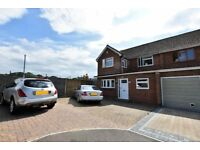 Large 4 bed semi detached house close to Bluewater. Immediately available. Vacant £1750/month