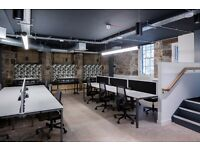 Contemporary Co-Working Office Space In The Old Town Minutes Walk from Waverley Station.