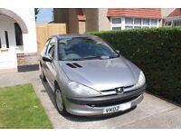 Peugeot 206. 1.4. 3 door. 2002