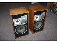 Wharfedale Vintage Antique Linton 3XP Speakers Classic Warfedale