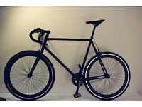 NEW IN ! Steel Frame Single speed road bike fixed gear racing fixie bicycle dssa