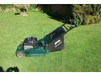 """ATCO VISCOUNT 19"""" ROTARY LAWNMOWER with grass collection."""