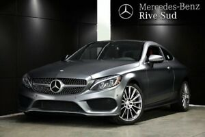 2017 Mercedes-Benz C-Class C300 4MATIC,Camera 360, BURMESTER