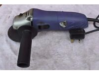 Silverline DIY Electric Mini Angle Grinder 115mm