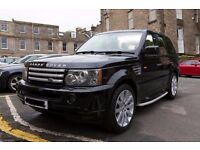 55 REG RANGE ROVER SPORT 2.7 TDV6 HSE - 109K FULL COMPREHENSIVE SERVICE - IMMACULATE CONDITION