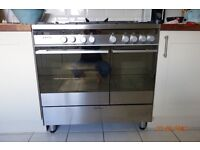 Fisher and Paykel freestanding range double oven and hob - for repair