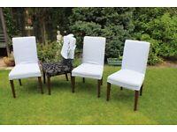 4 Ikea dining chairs