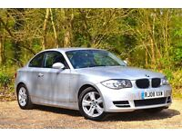BMW 1 Series 2.0 120d ES 2dr EXCELLENT CONDITION 2008 (08 reg), Coupe 70,203 miles Manual Diesel