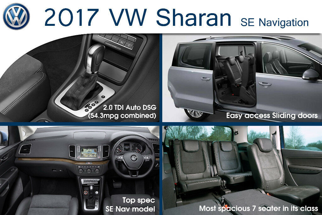 VW Sharan, 7 seat, PCO car hire, PCO rental, PCO hire, PCO car ...