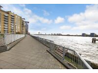 STUNNING GATED RIVERSIDE DEVELOPMENT IN CANARY WHARF 3 BED 2 BATH-CONCIERGE,GYM,STEAM ROOM-PARKING
