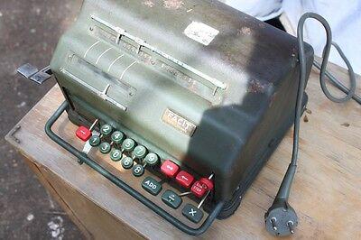 Rechenmaschine Facit  alte Rechner calculator elektrische alt mod. ne