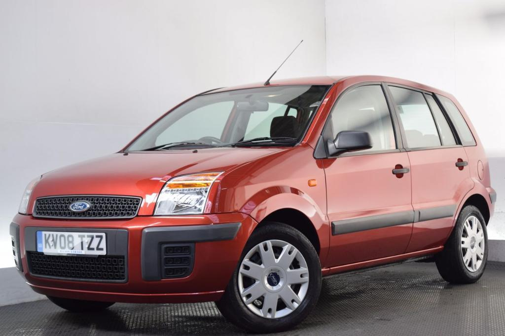 FORD FUSION 1.4 STYLE CLIMATE 5d 80 BHP (orange) 2008