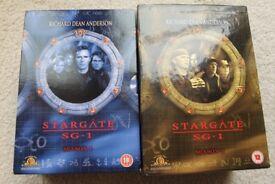 Stargate SG1 TV Series 1&2 DVD Box Sets