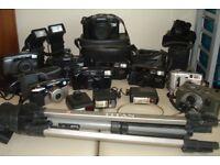 Camera Lots of cameras
