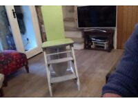vintage 50s Mary Jane, chair/ step/ironing board for sale,