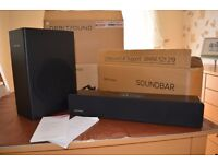 Orbitsound M10 soundbar with sub woofer.