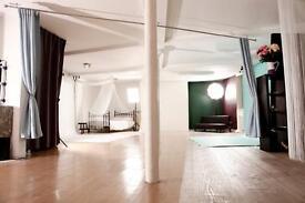 1300sqft photographic studio Farringdon