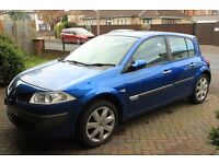 Renault Megane 2004 1.4 PETROL, Warranted Low Mileage, Excellent Family 5 Door