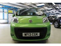 Fiat Qubo MULTIJET MYLIFE [ONLY 1 OWNER / BLUE & ME /FOGS] (lime green) 2013