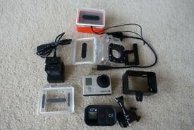 GoPro Hero 3 Black with remote
