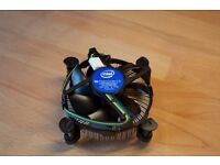 Intel CPU Cooler | 2016 | Brand New, 0 Usage | Mint Condition