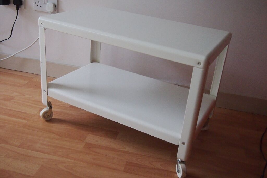 Ikea Ps 2012 Coffee Table White With Castors In Leeds City Centre