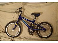 Child's Bicycle Dawes Blowfish 16 inch Good condition