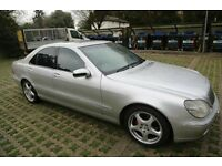 Used, Swap 4 SLK ML GE G Wagen CLK C E. S Class Auto S320 Automatic Mercedes Merc Benz W220 Uber Taxi Limo for sale  Cardiff