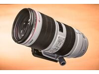 Canon 70-200mm 2.8 IS USM II - LIKE NEW