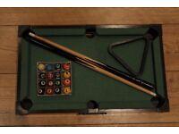 Mini Pool/Snooker table