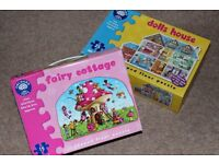 Orchard Toys Fairy Cottage Puzzle and Dolls House Puzzle