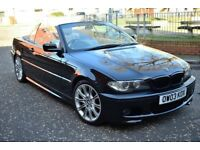 bmw 325 ci sport convertible m sport 2003 manual facelift