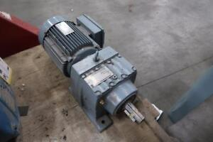 SEW Euro Drive 3hp Gear Motor