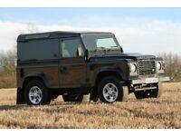 2010 Land Rover Defender 90 Hard Top. 1 Owner Low mileage. No VAT
