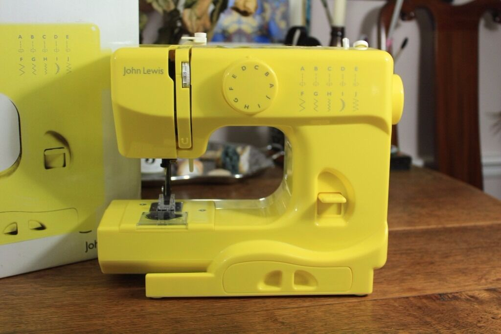 john lewis mini sewing machine instructions