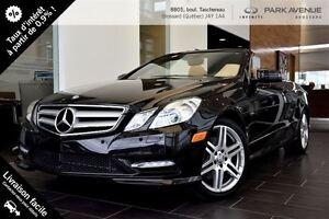 2012 Mercedes-Benz E-Class E350 Toute équipée!