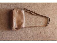 Tula Tan Crossbody Multi-Compartment Leather Bag