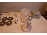 Kenwood pro Food processor good working order range of extra blades and glass mixer