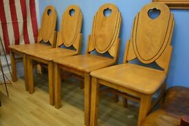 Four Retro Dinning Chairs import from New York, USA.