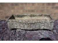 Garden Feature Bow Fronted Plant Trough