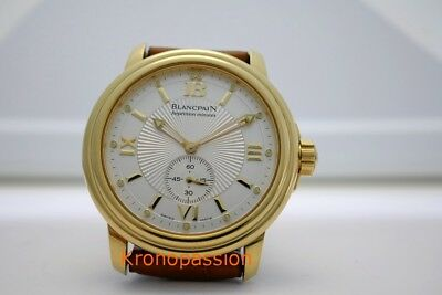 Blancpain Leman Minute Repeater 18K Yellow Gold 2135-1430-53 Limited Edition