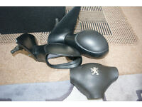 Peugeot 206 Wing Mirrors plus Airbag