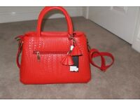 Gorgeous red bag, new with tags.