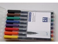 2 sets of Staedtler Permanent Pen (new, unused)
